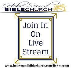 http://ift.tt/24JIeSR Join in today at 6:30 today.  #church #onlinestream #worship #hobesound #hobesoundbiblechurch