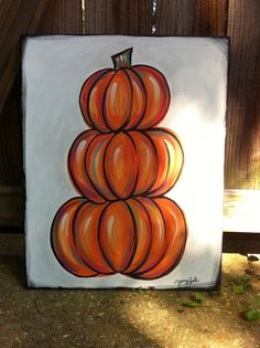 acrylic pumpkins painting | pumpkin painting