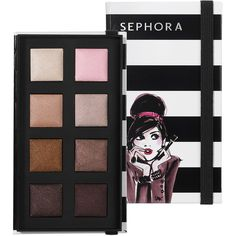 SEPHORA COLLECTION Izak Baked Eyeshadow Palette ($13) ❤ liked on Polyvore featuring beauty products, makeup, eye makeup, eyeshadow, beauty, eyes, cosmetics, sephora collection, palette eyeshadow and sephora collection eyeshadow