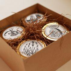 Pick 4 Gold Travel Candles (4oz) – Brooklyn Candle Studio