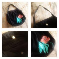 aloha - einfache tasche für die badi, zum einkaufen etc., neuwertig, von h, ca. 34x32cm, fr. 6.- (+ porto fr. 2.50)