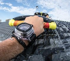 The @sevenfridayhdb is now live on SEVENFRIDAY.com.  Ready when you need it most the #SEVENFRIDAYHDB has your back - protecting your watch from city-wide tomato fights 200mph skydiver and even sharks  action shot by @miamiskindiver  by sevenfriday