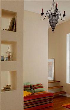 16 idées avec la couleur lin pour le salon   Peinture couleur lin ...