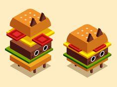 Catburger by Stefanie Bollen