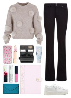 """""""5.220"""" by katrina-yeow ❤ liked on Polyvore featuring TIBI, Paige Denim, Impossible, Korres and Graphic Image"""