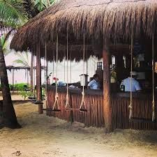 tulum beach bar swings