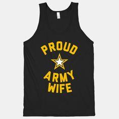 Proud Army Wife (Tank)