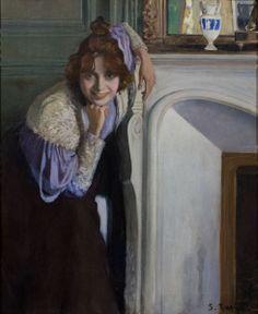 Santiago Rusiñol, La riallera (1894, Museu Nacional d'Art de Catalunya, Barcelona)