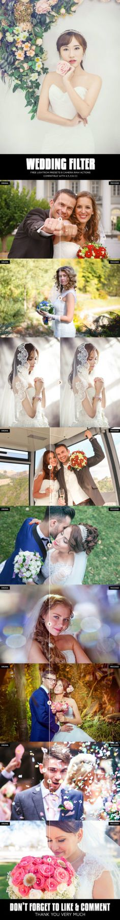 Introducing free wedding Lightroom presets for wedding photographers by PresetsHub. Set contains 10 filters which can ease your editing workflow.