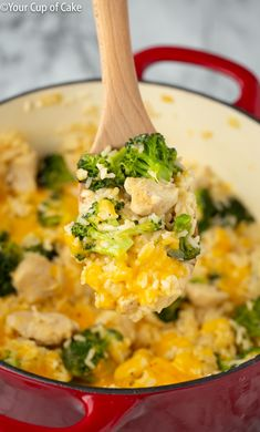 Get ready for this cheesy 30 minute meal!  My One Pot Cheesy Chicken Rice and Broccoli is perfect for the whole family and is quick and easy to make!  You won't be able to get enough, yum! One Pot Cheesy Chicken Rice and Broccoli All hail the one pot meal!  One pot recipes are so great because no matter who you are or how unskilled you are in the kitchen, you can manage to make a one pot recipe! This One Pot Cheesy Chicken Rice and Broccoli is perfect for the whole family and has the perfect…