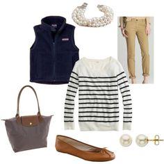 Presh, except for those flats..I'll take my TBs with that outfit