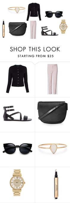 """""""Untitled #7489"""" by allitiner16 ❤ liked on Polyvore featuring Paul Smith, Forever 21, Topshop, Catbird, Michael Kors, women's clothing, women, female, woman and misses"""