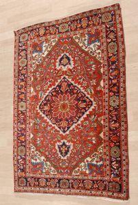 Schuler Auktionen Zürich  |  Saruk-Farahan Z-Iran, um 1900 106x147 cm (ft. 3.5x4.9).