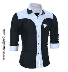 Cheap sleeve shirt men, Buy Quality casual men shirt directly from China men long sleeve shirt Suppliers: 2017 Autumn Fashion Brand Chemise Homme Slim Fit Men Long Sleeve Shirt Men Fight Color Casual Men Shirt Social Plus Size African Shirts, African Clothing For Men, African Men Fashion, Mens Fashion, Fashion Brand, Camisa Tribal, Gents Shirts, Casual Shirts For Men, Men Casual