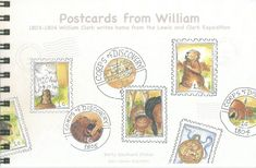 """""""Postcards from William"""", 2006    by Betty Southard Stokes"""