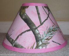 Pink Real Tree Lamp Shade