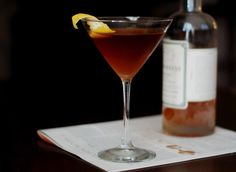 Martinez Cocktail - 10th Kitchen