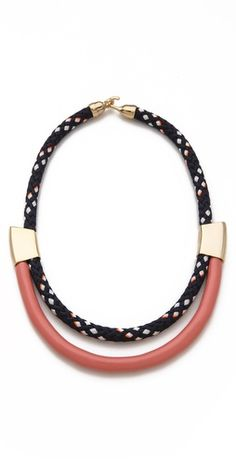 This Orly Genger necklace is our new obsession!