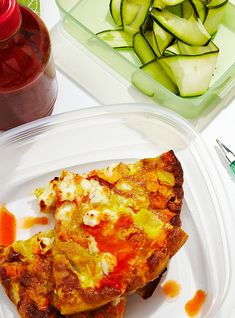 How To Make A Sweet Potato Frittata With Zucchini Salad+#refinery29