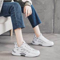 Women's #white grey casual shoe #sneakers label & camo pattern design Air Max Sneakers, Shoes Sneakers, Shoe Shop, Nike Huarache, Casual Shoes, Nike Air Max, Camo, Running Shoes, Grey
