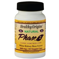 Phase 2 White Kidney Bean Extract, 500 mg 90 Caps AED202.00