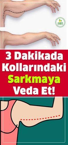 Hemen hemen her kadın sarkma sorunun ne demek olduğunu bilir... 3 Dakikada Kollardaki Sarkma Sorununa Veda Et! #cilt #kadın #sarkma #sağlık
