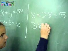 Resolución de un sistema de ecuaciones 6º