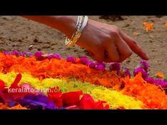 Athapookalam Onam festival  Thiruvananthapuram Kerala tourism