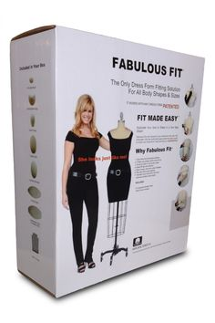 The Ultimate Dress Form Fitting Pad System by Fabulous Fit