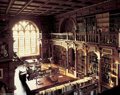 One of the oldest libraries at the heart of Oxford's historic University is Duke Humfrey's Library in the Bodleian, which held the primary function as a reading room for maps, music and pre-1641 rare books until 2015