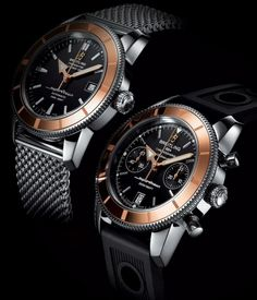 Breitling Superocean Heritage Red Gold