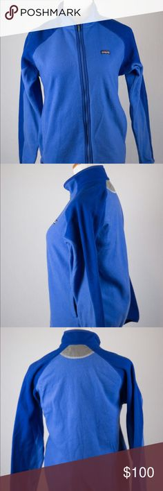 Youth Patagonia XL Blue Zip Jacket This warm zip jacket is a great article of clothing. It is vibrant and in very good condition. Item was professionally cleaned before listed. SKU in warehouse is #886. Patagonia Jackets & Coats