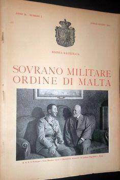 Rivista Illustrata - Aprile-Giugno 1945. #OrderofMalta #SMOM