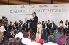 El gobernador de Michoacán y la titular de la SRE, Claudia Ruiz Massieu, encabezaron el Diálogo de Universitarios por Migrantes, en donde las y los connacionales manifestaron sus principales problemáticas ...