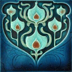 Henry Richards c1905/08 - RS0098 - Art Nouveau Tiles