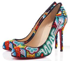 Christian Louboutin Mexibeads Pumps