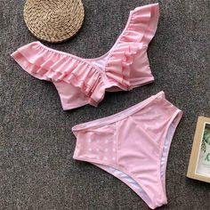 Malbaba Stripe Halterneck Two Piece Bikini Sets With Boyleg Shorts Swimming Costumes Swimsuits Swimwear Beach Suit