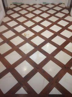 Custom Wood and Marble Floors in Palos Verdes – LA Design Build