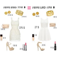 Price high price low by michellewl on Polyvore featuring Forever New, KG Kurt Geiger, Chloé, Coach, Penny Preville, Julie Vos, Lancôme, NYX, Tom Ford and River Island