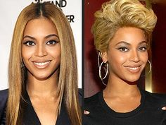Very few celebrities have had as much of an impact on women's hairstyles as Beyonce. Come take a look and choose your favorite. Unique Hairstyles, Celebrity Hairstyles, Straight Hairstyles, Cut My Hair, Big Hair, Hair Cuts, Beyonce Pictures, Long Locks, Short Wigs