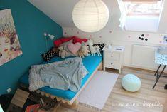 U nás na kopečku: DIY postel Toddler Bed, Furniture, Home Decor, Model, Child Bed, Decoration Home, Room Decor, Scale Model