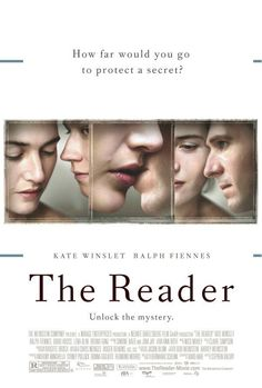 The Reader is a drama and romance film based on the German novel of the same name by Bernhard Schlink and written by David Hare. This film directed by Stephen Daldry and starring Ralph Fiennes and Kate Winslet. Romantic Movies On Netflix, Best Romantic Movies, Sad Movies, Hindi Movies, Great Movies, Saddest Movies, 2018 Movies, Watch Movies, Ralph Fiennes