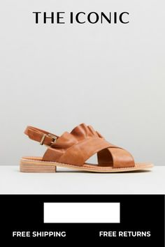bd2f21abecbb Eloise Leather Ruffle Sandals in 2018