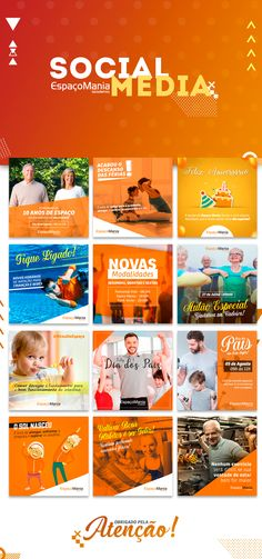 Check out this project: Social Media Academia Espaço Mania www Social Media Art, Social Media Branding, Social Media Banner, Social Media Template, Social Marketing, Facebook Poster, Instagram Banner, Web Banner, Banners