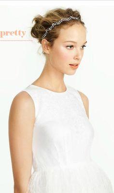 Jennifer Behr headpiece