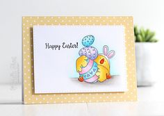 The Card Grotto: Easter Bunny Chick