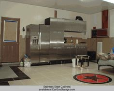 http://www.carguygarage.com  Stainless Steel Cabinets