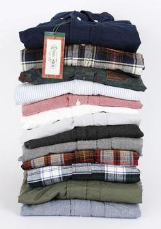 Pile of shirts