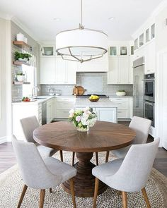 Round Kitchen Tables White Dining Table Chairs For