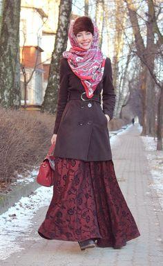 Имиджмейкер Анна Гор: русский стиль образ жены купца